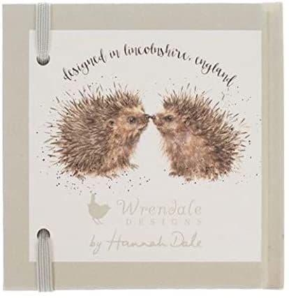 Wrendale Designs Illustrated New Beginnings Password Book Notebook Pad 11x10cm